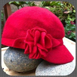 Red Women's Newsboy Cap